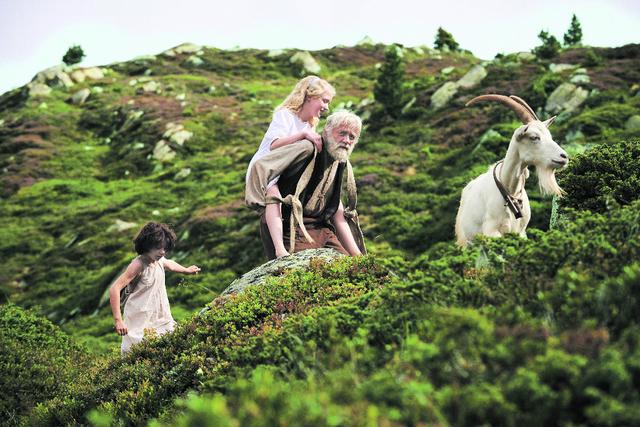 Foto © Ausschnitt aus dem Film Heidi von Alain Gsponer