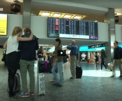 Schweizer Touristen wenig verunsichert